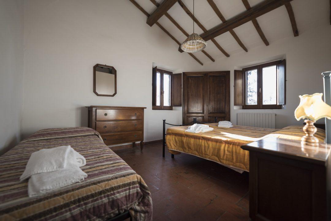 Le camere de La Capretta